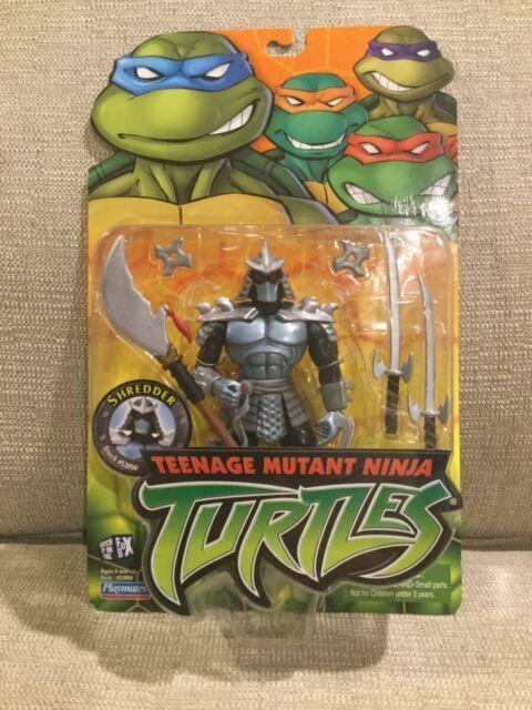 Tmnt Shredder Teenage Mutant Ninja Turtles Action Figure 2002
