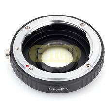 Nikon Lens to Pentax Camera With Optical Glass Adapter For K-3 K-50 K-5 II K-30