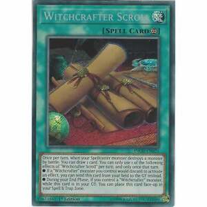 Yu-gi-oh! Tcg: Witchcrafter Scroll - Inch-en025 - Secret Rare Card - 1st Edition Z8dnnp9m-07233926-434929145