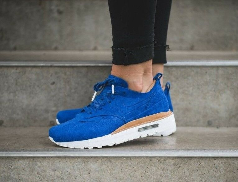 Zapatos promocionales para hombres y mujeres WOMENS NIKE AIR MAX 1 ROYAL SIZE 5.5 EUR 39 (847672 400) GAME ROYAL BLUE