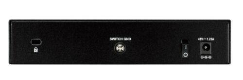 D-Link 8-Port L2 Ethernet Network Switch Black 10//100//1000
