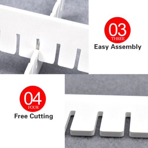Adjustable Creative Drawer Divider Household Storage Organizer Draw Separators F