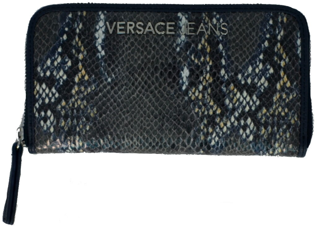 Portafoglio women blue Versace Wallet Woman bluee Full Zip