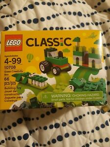 (LOT OF 5) LEGO Classic Green Creativity Box 10708 NEW & SEALED Building Kit