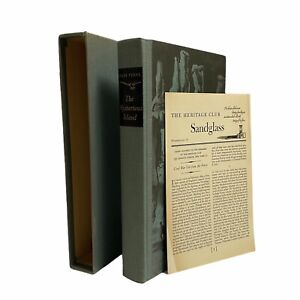 Jules Verne THE MYSTERIOUS ISLAND Limited  The Heritage Club in Slipcase, 1959