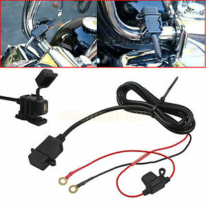 waterproof motorbike motorcycle usb charger mobile power socket rh ebay com USB Wire Color Diagram USB Wire Color Diagram