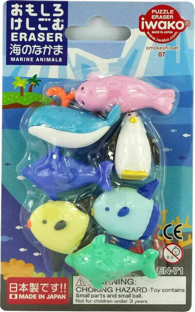 IWAKO ER-BRI031 Collection Erasers for Erasing