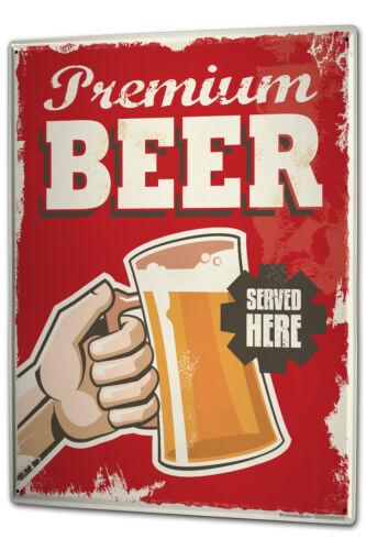 Tin Sign XXL Brewery Beer Kitchen Premium beer metal plate plaque