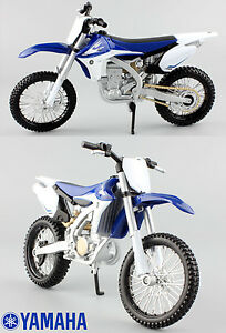 Yamaha-YZF-450-1-12-Druckguss-Motocross-Mx-Motorrad-Spielzeug-Modell-Quad-Maisto
