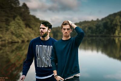 THE CHAINSMOKERS Poster MULTIPLE SIZES Hip Hop Rap Recording Artist Music E
