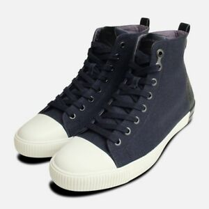 Navy Tops Blue Shoes Klein Calvin Hi S0377 Arnaud w6Fqdw