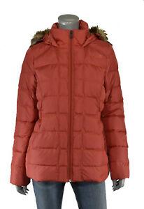 sale retailer 4d044 af77f Dettagli su Donna North Face Brulle Rosso Gotham 550 Giacca Piumino Nuovo  $230