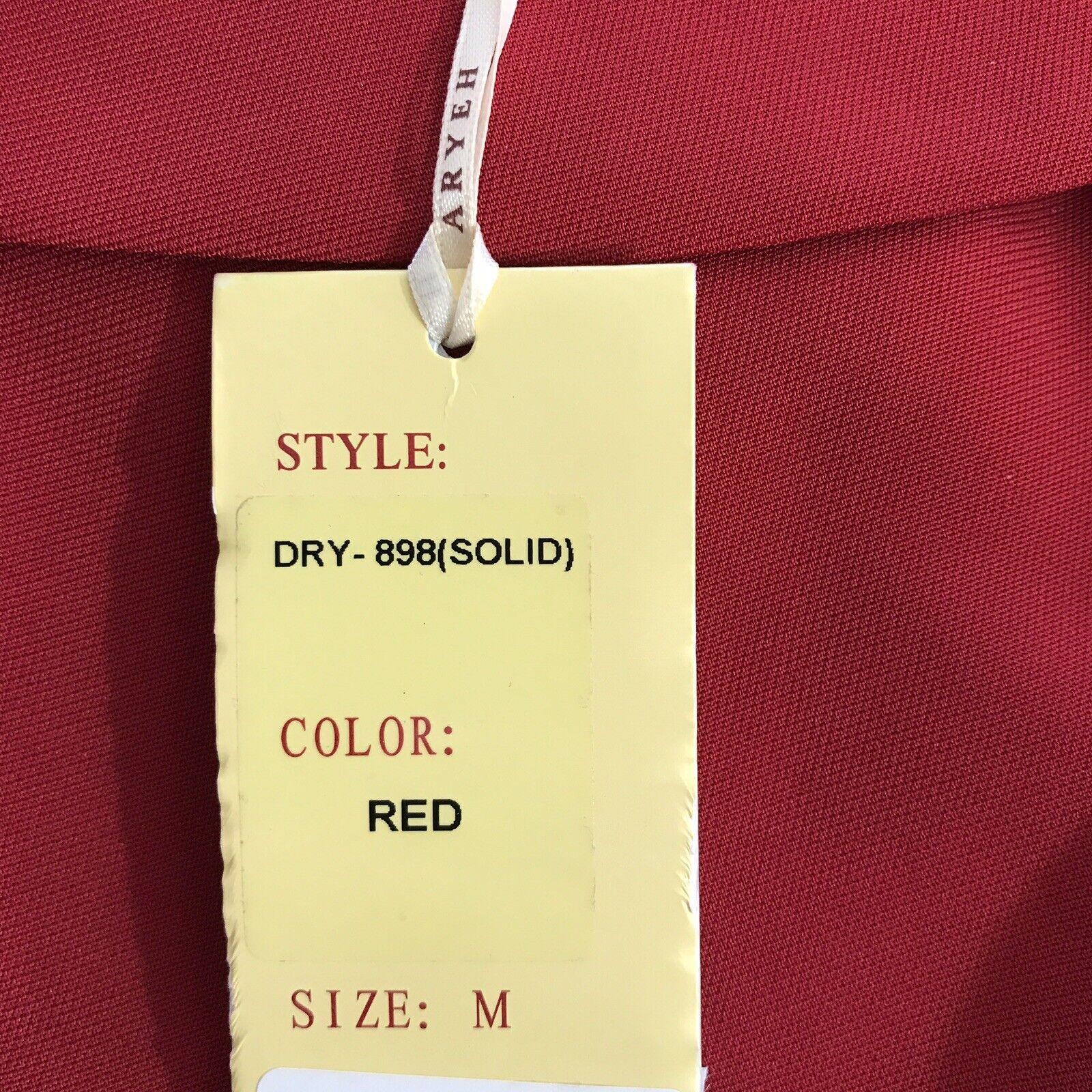 Nuevo vestido vestido vestido tubo Aryeh Fit & Flare Sin Mangas Rojo Talla M 7b0940