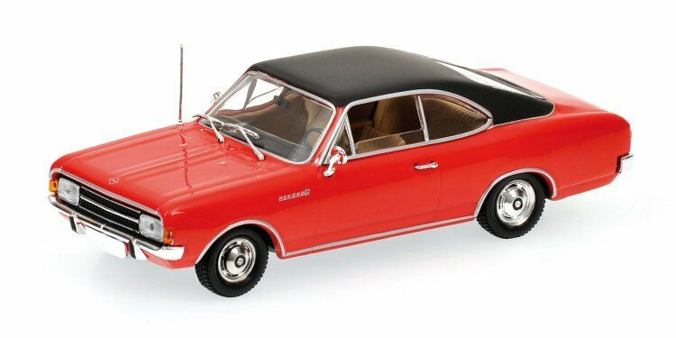 Opel Rekord C Coupe' 1966 Red 1 43  MINICHAMPS