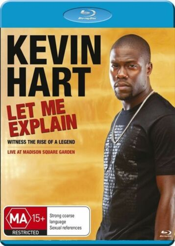 1 of 1 - Kevin Hart - Let Me Explain..BLU RAY... DISC LIKE NEW   DVD