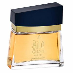 GHAZI-OUD-100ML-Eau-De-Parfum-Para-Hombres-Por-Swiss-Arabian-sin-Caja
