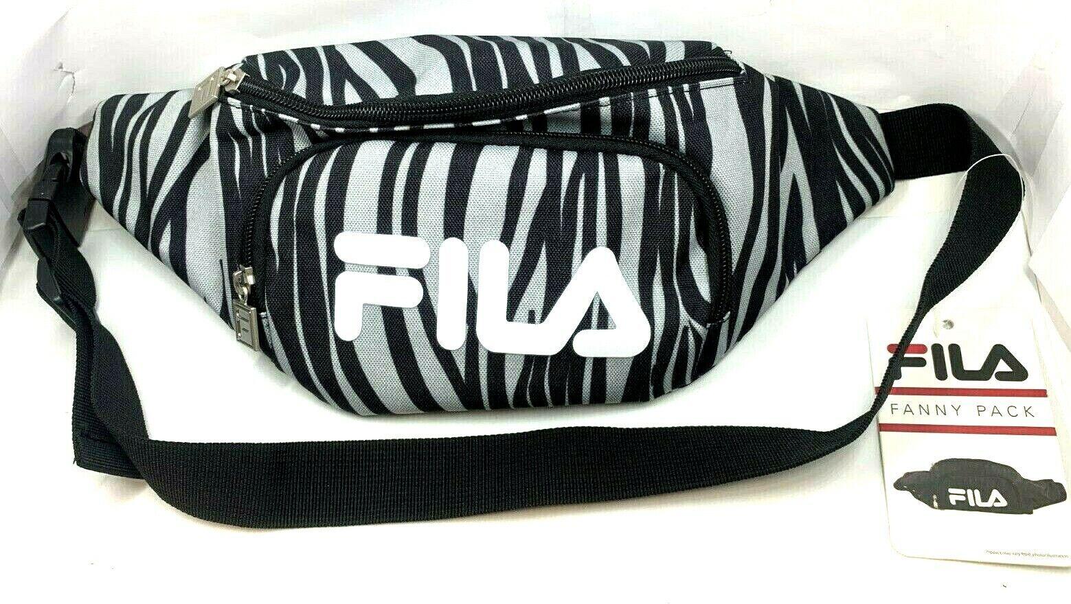 Fila fanny pack wait bag adjustable shoulder crossbody bag