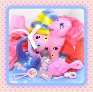My-Little-Pony-MLP-G1-Vtg-SWEETIE-Baby-Licorice-TAF-Twice-as-Fancy-Liquorice