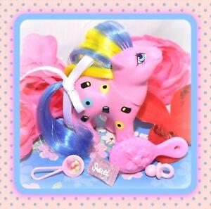 ❤️My Little Pony MLP G1 Vtg SWEETIE Baby Licorice TAF Twice as Fancy Liquorice❤️