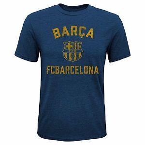 FC BARCELONA YOUTH T-SHIRT TEAM CREST/LOGO SIZES SMALL-XL