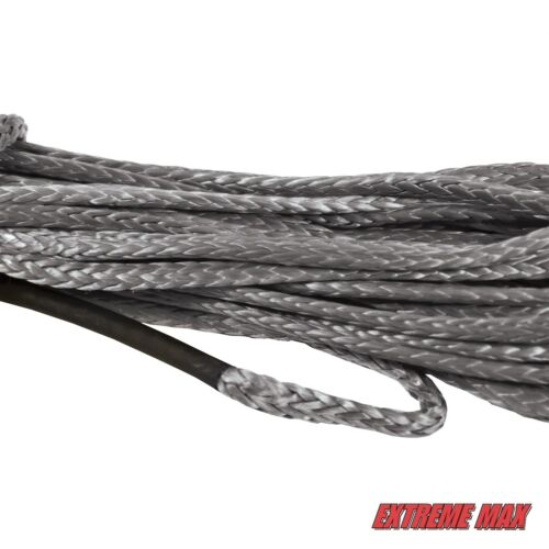 "UTV Winch Rope Extreme Max /""The Devil/'s Hair/"" Synthetic ATV Gray"