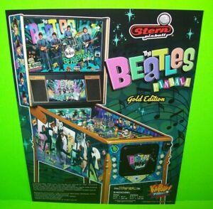The-Beatles-Pinball-Machine-FLYER-Art-Beatlemania-John-Lennon-George-Harrison