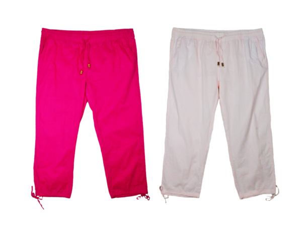 2019 Nuevo Estilo #neu Janina Señora Pantalones De Verano Sustancia Pantalones Schlupfhose Talla 48, 54, 56, 58 Sobre Tamaño-ver