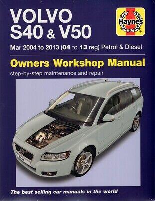Hingebungsvoll Volvo S40 & V50 (2004-2013) Reparaturanleitung Workshop Service Repair Manual Einfach Zu Schmieren