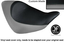 GREY AND BLACK VINYL CUSTOM FITS HONDA NRX RUNE 1800 SOLO SEAT COVER ONLY
