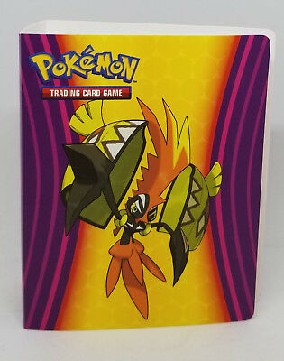 Litten Rowlet Mini Collector/'s Binder Holds 60 Cards Pokemon Solegaleo Lunala