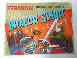 Nintendo-Dragon-Spirit-The-New-Legend-NES-Instruction-Manual-Only-AB-11