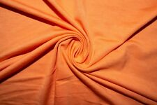 Salmon Jersey Knit #15 Rayon Modal Spandex Lycra Stretch Fabric BTY