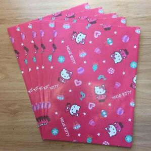 c34de725b30 Image is loading Sanrio-2010-Hello-Kitty-Holiday-5pc-Paper-Gift-