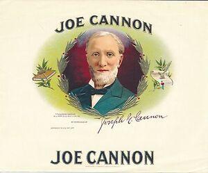 Joe-Cannon-cigar-box-label-color-image-by-W-J-Neff-amp-Co-cigars