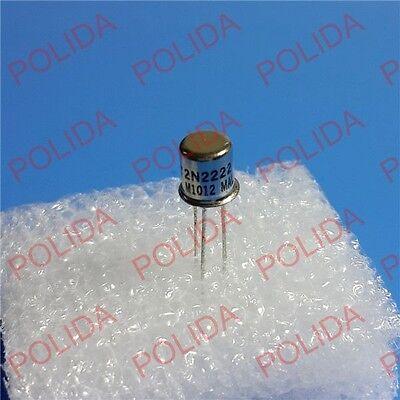 10PCS Transistor ST//MOTOROLA TO-18 CAN-3 2N2222