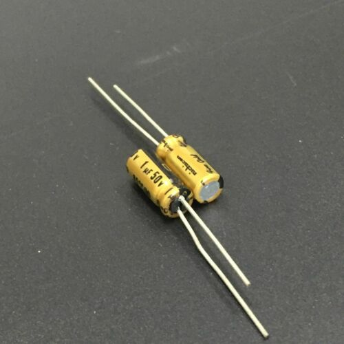 10pcs//100pcs 50V1uf 50V Nichicon FG Muse capacitor 5x11mm FineGold for Audio