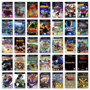 Nintendo-GameCube-Spiele-Wahl-Jump-N-Run-Action-Sport-Racing