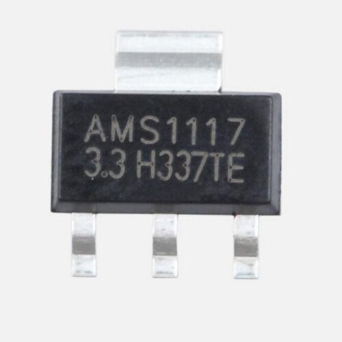 10Pcs AMS1117-3.3 LM1117 3,3 V 1A SOT-223 Spannungsregler Z QY