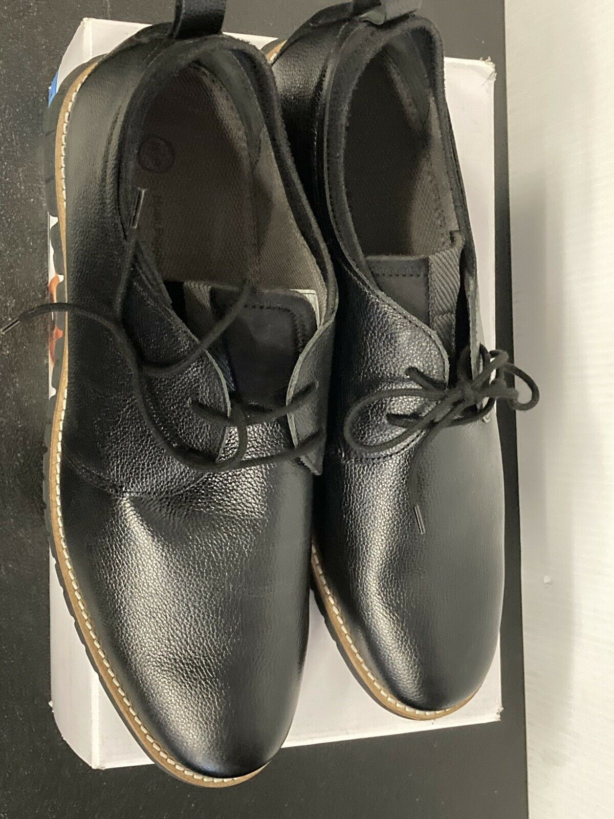Size 8 Details about  /Hush Puppies Men/'s Colby Oxford Sneakers-Black