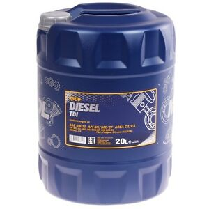 5W-30 Motoröl 20 Liter Mannol Diesel TDI 5W-30 API SN CF BMWLL-04 MB 229.51 VW