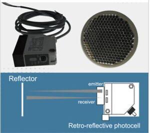 Lockmaster Lm104 32ft Photo Eye Photocell 12240v Dcac Beam Sensor