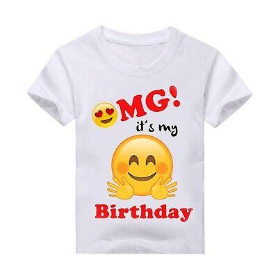 Emoji T Shirt Birthday Personalized