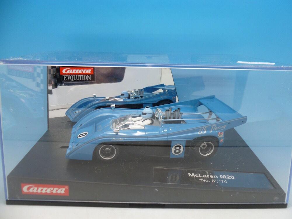 Carrera27368 Evolution McLaren M20 No8 74, mint boxed