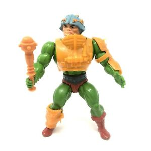 MOTU- Man at Arms RED DOTS - Vintage Mattel Masters Of The Universe - Complete