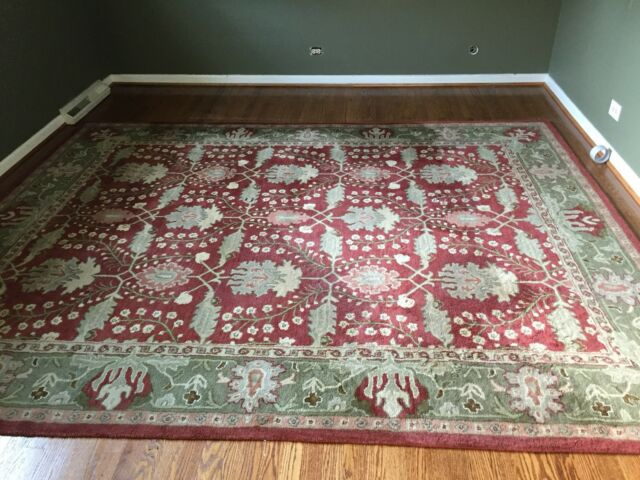Pottery Barn Franklin wool rug 8x10