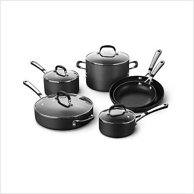 Calphalon Nonstick Pots And Pans 10 Piece Cookware Set