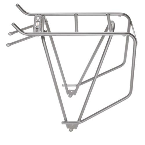 Tubus Cargo Luggage Carrier 26 28 Inch Black Silver Rear Bike Carrier