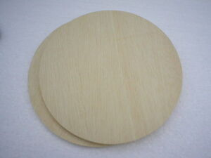 Holzscheiben rund sperrholz furnier flechtboden 8 mm for Holzscheibe rund