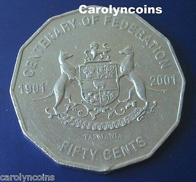 20c Centenary of Federation New South Wales NSW 20 Cent Australian Coin 2001