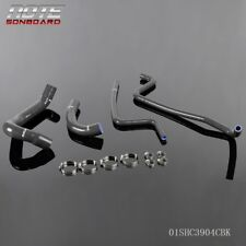 Fit For Jeep Wrangler Tj 40l 1997 2001 Black Silicone Radiator Heater Hose Kit Fits 1999 Jeep Wrangler
